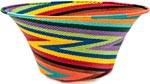 African Basket - Zulu Wire - Large Flared Bowl #39570