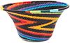 African Basket - Zulu Wire - Small Flared Bowl #47270