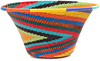 African Basket - Zulu Wire - Small Flared Bowl #47274