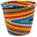 African Basket - Zulu Wire - Short Cup Shape #48545