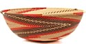 African Basket - Zulu Wire - Bowl #50999