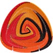 African Basket - Zulu Wire - Shallow Triangle #55528