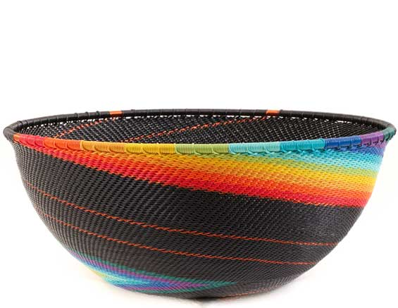 African Basket - Zulu Wire - Extra Large Bowl #59479