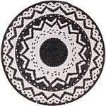 African Basket - Zulu Wire - Coil Weave Platter - 13 Inches Across - #60437