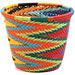 African Basket - Zulu Wire - Short Cup Shape #62698