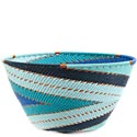 African Basket - Zulu Wire - Deep Bowl #63390