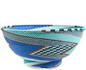African Basket - Zulu Wire - Bowl with Base #69947