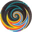 African Basket - Zulu Wire - Shallow Bowl #70157