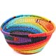African Basket - Zulu Wire - Small Triangular Bowl #71034