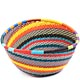 African Basket - Zulu Wire - Small Triangular Bowl #71048