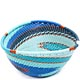 African Basket - Zulu Wire - Small Triangular Bowl #71059