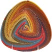 African Basket - Zulu Wire - Shallow Triangle #71094
