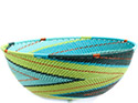 African Basket - Zulu Wire - Bowl #72735
