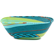 African Basket - Zulu Wire - Extra Large Square Bowl #73089