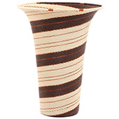 African Basket - Zulu Wire - Flared Top Vase #73095