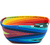 African Basket - Zulu Wire - Square Bowl #73102