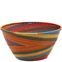 African Basket - Zulu Wire - Deep Bowl #73107