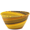 African Basket - Zulu Wire - Deep Bowl #73109