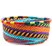 African Basket - Zulu Wire - Small Bowl with Straight Sides #73884