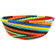 African Basket - Zulu Wire - Small Wide Bowl #74156