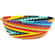 African Basket - Zulu Wire - Small Wide Bowl #74164