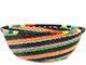 African Basket - Zulu Wire - Small Wide Bowl #74168