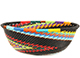 African Basket - Zulu Wire - Small Wide Bowl #74170