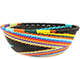 African Basket - Zulu Wire - Small Wide Bowl #74172