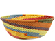 African Basket - Zulu Wire - Small Wide Bowl #74177