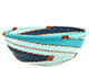 African Basket - Zulu Wire - Small Wide Bowl #74203