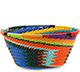 African Basket - Zulu Wire - Small Bowl #74223