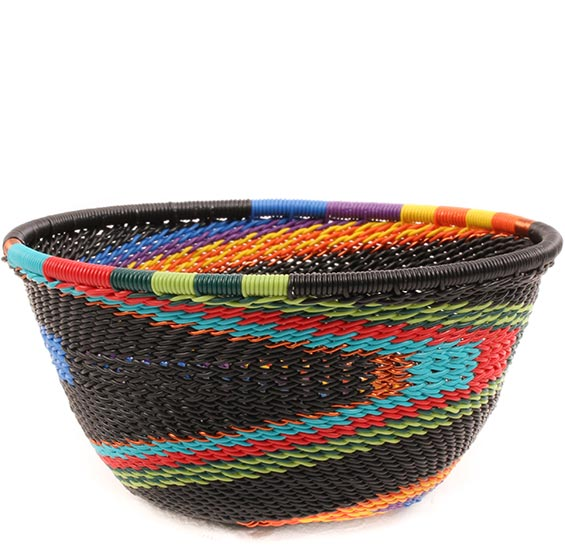 African Basket - Zulu Wire - Small Bowl #74230