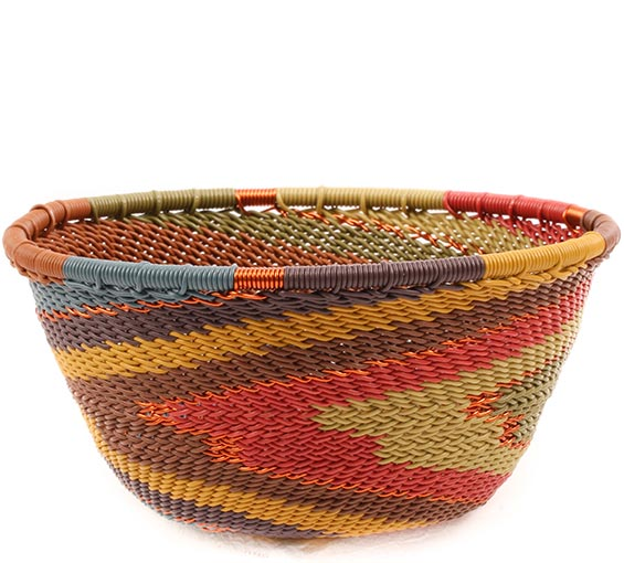 African Basket - Zulu Wire - Small Bowl #74242