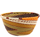 African Basket - Zulu Wire - Small Bowl #74248