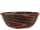 African Basket - Zulu Wire - Small Wide Bowl #74249