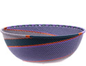 African Basket - Zulu Wire - Bowl #74688