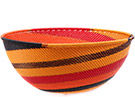 African Basket - Zulu Wire - Extra Large Bowl #74694