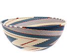 African Basket - Zulu Wire - Extra Large Bowl #74696
