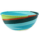 African Basket - Zulu Wire - Extra Large Bowl #74699