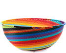 African Basket - Zulu Wire - Extra Large Bowl #74701