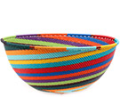 African Basket - Zulu Wire - Extra Large Bowl #74702