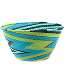 African Basket - Zulu Wire - Deep Bowl #74706