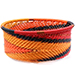 African Basket - Zulu Wire - Small Bowl with Straight Sides #74828