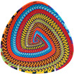 African Basket - Zulu Wire - Shallow Triangle #75615