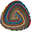 African Basket - Zulu Wire - Shallow Triangle #75623