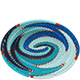 African Basket - Zulu Wire - Small Shallow Oval #75630