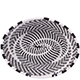African Basket - Zulu Wire - Small Shallow Oval #75633