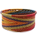 African Basket - Zulu Wire - Small Bowl with Straight Sides #75638