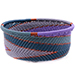 African Basket - Zulu Wire - Small Bowl with Straight Sides #75643