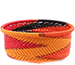 African Basket - Zulu Wire - Small Bowl with Straight Sides #75652